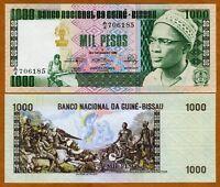 Guinea Bissau, 1000 (1,000) Pesos, 1978, P-8 (8b), UNC