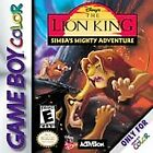 Disney's The Lion King: Simba's Mighty Adventure (Nintendo Game Boy Color, 2000)