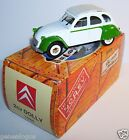 NOREV HACHETTE CITROEN 2CV DOLLY VERTE 1985 1/43 IN BOX