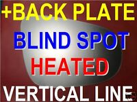 VW PASSAT CC 2008+ SCIROCCO 2008+ WING MIRROR GLASS blind spot right or left