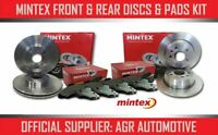 MINTEX FRONT + REAR DISCS AND PADS FOR FIAT MULTIPLA 1.6 2005-10