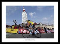 2013 Tour de France Chris Froome Mont Ventoux Summit Photo Memorabilia (633)