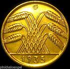 Germany-German Third Reich-1935G Ten Reichspfennig Coin-S&H Discounts!
