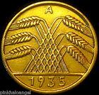 Germany - German Third Reich - German 1935A 10 Reichspfennig Coin