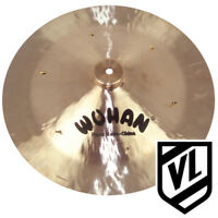 """16"""" Wuhan China Cymbal with Rivets WU10416R - for your drum kit"""