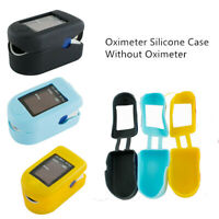 colorful  SOFT RUBBER CASE for finger Pulse Oximeter - FREE SHIP