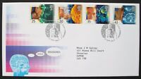 GB First Day Cover 1994 MEDICAL DISCOVERIES Special CAMBRIDGE Handstamp