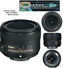 Nikon Nikkor 50mm F/1.8G FX AS G SWM AF-S SIC M/A Lens - Extended Cyber Week Sal