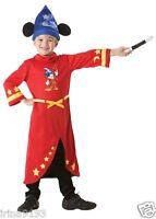 Disney Mickey Mouse Fantasia Children`s Kids Fancy Dress Costume 3-4,5-6,7-8yrs