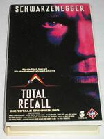 UFA Video 3901 - Total Recall - VHS/Action/Arnold Schwarzenegger/Sharon Stone