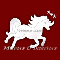50cm Unicorn Personalised Boys/Girls Gift Large Mirror