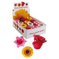 Lipgloss Flower Witzige Geschenkidee Lippenbalsam Blumen-Dose Lippenpflege D2182