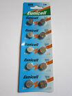 10x Eunicell AG13 LR44 GP76 357 SR44SW SR44 RW42 1.5v Alkaline Battery Batteries