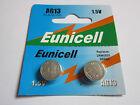 2x Eunicell AG13 LR44 GP76 357 SR44SW SR44 RW42 1.5v Alkaline Battery Batteries