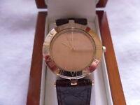Clogau 9ct Welsh Gold Mens Wrist Watch RRP £2,200.00
