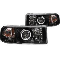 Anzo USA 111065 Projector Headlight Set w/Halo Fits Ram 1500 Ram 2500 Ram 3500