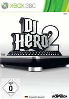 DJ Hero 2 (Microsoft Xbox 360, 2010, DVD-Box)
