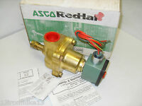 "NEW ASCO RED HAT 8210G27MO 2-Way SOLENOID VALVE 8210G27 MO 1""120Vac * NEW IN BOX"
