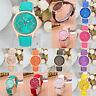 New Fashion Golden Leather Quartz DIY Bracelet Watch For Women Gift