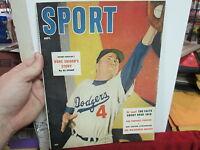 September 1955 Sport Duke Snider Brooklyn Dodgers cover