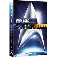 Star Trek: Motion Picture Trilogy (DVD, 2009) William Shatner, Leonard Nimoy