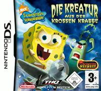 SpongeBob Schwammkopf: Die Kreatur aus der Krossen Krabbe (Nintendo DS, 2006)