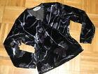 LNWOT Women nice sweater black and grey velvet colors 'Studio Fizz''size M