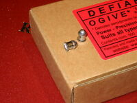 NEW!  Defiant Ogive .22 hunting air rifle pellets with bullet-shaped head: