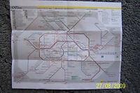 Netzspinne Linienplan Liniennetz Berlin 2012 U-Bahn S-Bahn