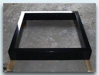 Urnengrabeinfassung 100x100cm, Grabeinfassung, Granit, China Black,NEU!!!