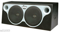 Double 12'' Car Subwoofer Bass System 2000W Built-In Streamline Grill