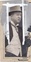 JACK WELSH EARLY MOVIE ACTOR VINTAGE 1920s PASTE-UP NEWS PRESS PHOTO