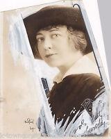 MAUDE FULTON 'THE BRAT' STAGE ACTRESS  VINTAGE 1920s PASTE-UP NEWS PRESS PHOTO