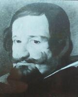 Portrait Gaspar de Guzman,Count-Duke of Olivares, det.,Magic Lantern Glass Slide