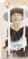 MAUDE FULTON STAGE & MOVIE ACTRESS  VINTAGE 1916 PASTE-UP NEWS PRESS PHOTO