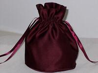BNWOT Burgundy duchess satin dolly bag for bridesmaid/eveningwear