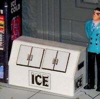 Custom Made Wide Ice Machine for Plasticville Lionel 027