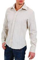 Camicia Uomo Maniche Lunghe 525 Gruppo Einstein 13C5015 A583 Tg L XL XXL