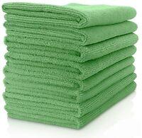 VibraWipe Vibrawipe Microfiber Cloth, Green (Pack of 8)