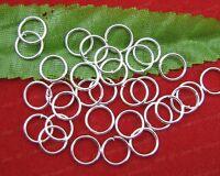 FREE SHIP 500Pcs nickel plated metal jumping rings 4mm JK0180