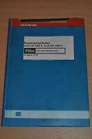 Werkstatthandbuch Reparaturleitfaden AUDI 100 200 1983 Fahrwerk Allradantrieb MF