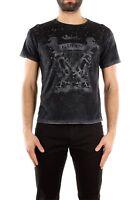 T-Shirt Gucci Uomo Cotone Nero 365335X3B711243