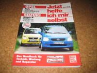 Reparaturanleitung Opel Agila + Suzuki Wagon R+