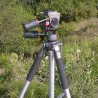 CAVALLETTO TREPPIEDE standard professionale 1/4'' con testa fotografica- ID 3868