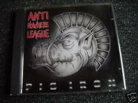 Anti Nowhere League-Pig Iron CD-Made in Germany-Punk-OI