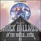 THE BEST ROCK BALLADS IN THE WORLD EVER - VARIOUS - 2 X CD SET - QUEEN / STYX +