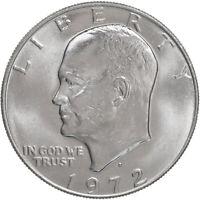 1972 D Eisenhower Dollar BU Ike US Mint Coin
