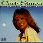 CARLY SIMON - Greatest Hits Live (CD Original ALBUM) 1987 Arista 11 Tracks
