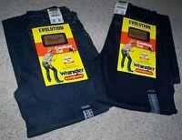 Coppia Jeans WRANGLER  EVOLUTION Denim BrokenTwill cowboy equitazione Tg.W24/L34
