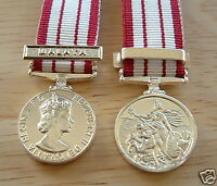 MEDALS - NAVAL GSM 1915-62 EIIR - ANY CLASP - MINIATURE